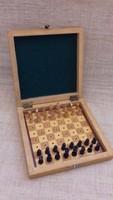 Régi utazó sakk készlet