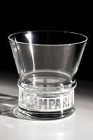 4db klasszikus Campari üvegpohár