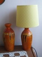 Retro iparművészeti kerámia lámpák