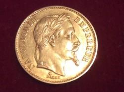 Napoleon 20 Francs 1865