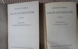 Rónay György: Fák és gyümölcsök I-II. (Franklin, 1941) - régi magyar regény