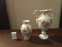 Herendi domborrmintás váza