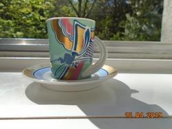 A tervező művész szignójával újszerű modern Rosenthal mokkás Espresso nr.1 Studio Line