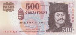 500 Forint 2013 ED - UNC