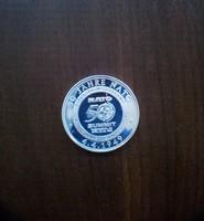 Ezüst érem, NATO. 50 Jahre Frieden sorozat. Tükörveret. 1999 aUNC