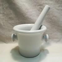 Porcelán patika mozsár törővel , hibátlan