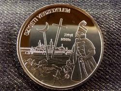 Nemzetünk nagyjai - Zrínyi Miklós színezüst tükörveret/id 8508/