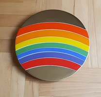 """Rainbow""  Rosenthal Plate 1973"