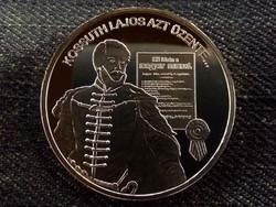 Nemzetünk nagyjai - Kossuth Lajos színezüst tükörveret/id 8510/