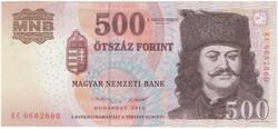 500 Forint 2013 EC - EF+