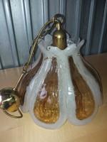 Vintag Folyasztott  Lámpa