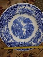 Delft blue tányér, hibátlan, 23 cm