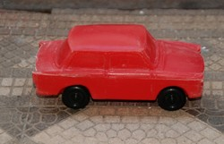 Retro kisipari fröccsöntött műanyag auto - Trabant 601 - 1981