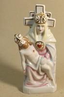 Mária Jézussal porcelán szobor