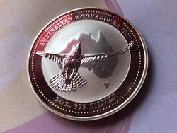 2002 Ausztrál kookaburra 62,2 gramm 0,999 Ritka