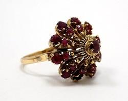 Gránát köves arany gyűrű (ZAL-Au50611)