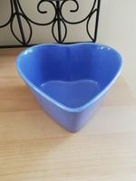 Szív alakú tál, asztalközép,kínáló