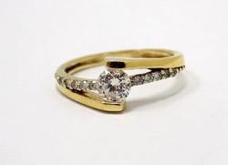 Köves arany gyűrű (ZAL-Au79040)