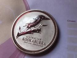 2003 Ausztrál kookaburra 62,2 gramm 0,999 Ritka