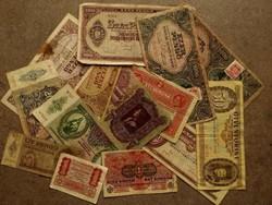 14 vegyes történelmi bankjegy/id 8551/