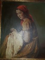 Glatter Ármin festmény