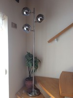 Retro 70-es évek molekula lámpa , Kare design módra Münchenből