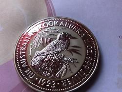 1993 Ausztrál kookaburra 62,2 gramm 0,999 Ritka