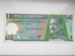 Guatemala 1 quetzal 2012 UNC  polymer