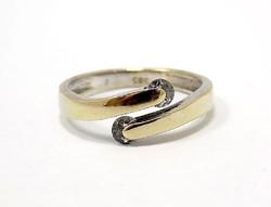 Köves arany gyűrű (ZAL-Au78959)