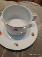 Zsolnay pajzspecséstes csésze teás