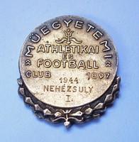 Műegyetemi Athletikai és Football Club 1944,Nehézsúly I.díj