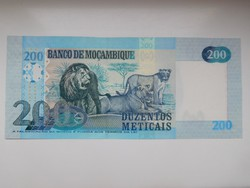 Mozambik 200  meticais 2017 UNC