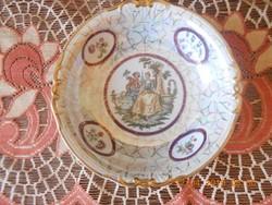 Volkstedt porcelán kínáló tál