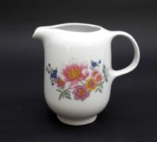 Alföldi virágos tejszínes kiöntő - retro porcelán