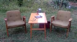 Concept Sessel 366 2db. dizájn fotel felujitásra retro vintage 1962 Józef Chierowski