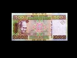 UNC - 500 FRANCS - GUINEA - 1960 - (Old Money)