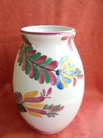 Nagy méretű Fischer porcelán váza ritka mintával