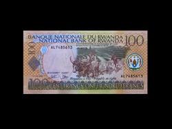 UNC - 100 FRANCS - RUANDA - 2003