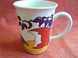 Zsolnay porcelán húsvéti mintás gyerek csésze