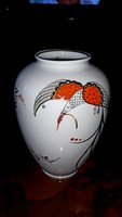Wallendorf pávás váza
