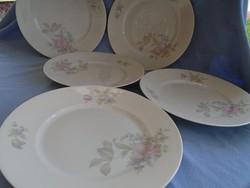 Gyönyörű régi ROSENTHAL tányérok 5 személyes nagy méret  26 cm  hibátlan