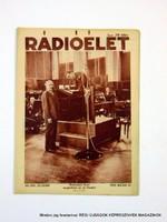 1935 május 24  /  Rádióélet  /  Régi ÚJSÁGOK KÉPREGÉNYEK MAGAZINOK Szs.:  9249