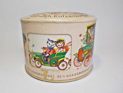Waldbaur régi mesemintás - forgatható  csokoládé doboz