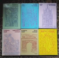 Corvina művészettörténet sorozat - ókor középkor újkor - 6db