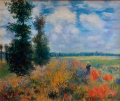 Litteczky Endre (1880-1953):  Vadvirágos réten