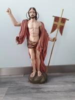 Fa valláso szobor XIX. sz. közepe-vége