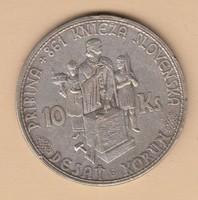 Ezüst 10 Korona 1944 aUNC