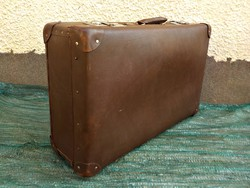 Régi bőrönd , koffer
