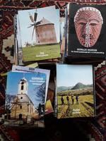 Kb 300 db magyar turisztikai füzet, kulturális értékek, műemlékek