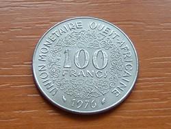 NYUGAT AFRIKA 100 FRANK FRANCS 1976 #